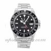Mens Rolex Gmt Master 16750 40 MM Case Automatic Movement Black Dial