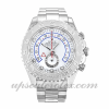 Mens Rolex Yacht-master Ii 116689 44 MM Case Automatic Movement White Dial