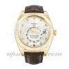 Mens Rolex Sky-dweller 326138 42 MM Case Automatic Movement Silver Dial