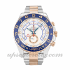 Mens Rolex Yacht-master Ii 116681 44 MM Case Automatic Movement White Dial
