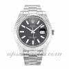 Mens Rolex Datejust Ii 116334 41 MM Case Automatic Movement Black Dial