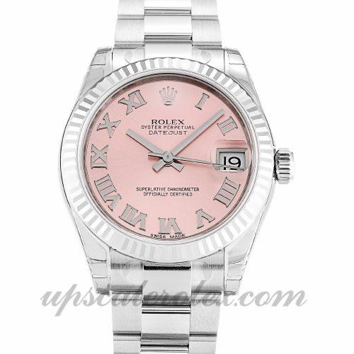 Ladies Rolex Datejust Lady 178274 31 MM Case Automatic Movement Pink Dial