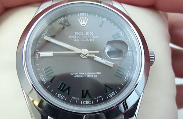 Rolex Datejust Gray Dial Replica Watch