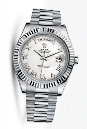 Rolex Day-Date stainless steel