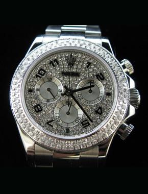 Rolex Daytona diamonds replica watch