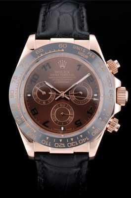 Rolex Daytona rose gold chocolate dial replica watch