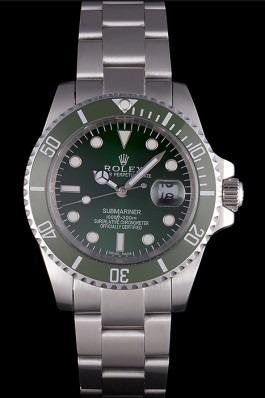 Rolex Submariner green dial replica watch