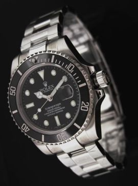 Rolex Submariner black dial replica watch