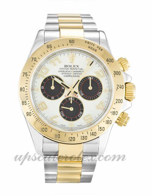 Mens Rolex Daytona 116523 40 MM Case Automatic Movement White Dial