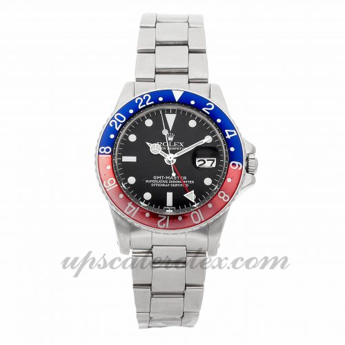 Mens Rolex Gmt-master Vintage 1675 40mm Case Mechanical (Automatic) Movement Black Dial