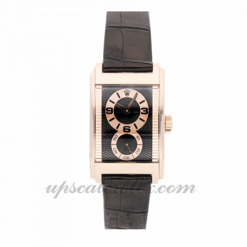 Mens Rolex Cellini Prince 5442/5 45mm X 27mm Case Mechanical (Hand-winding) Movement Black Dial