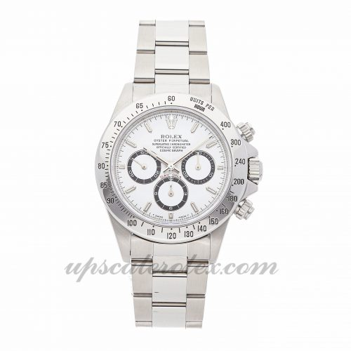 Mens Rolex Daytona 16520 40mm Case Mechanical (Automatic) Movement White Dial