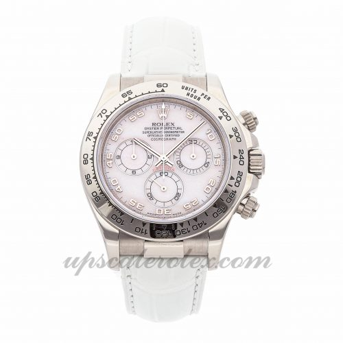 Ladies Rolex Daytona 11651 40mm Case Mechanical (Automatic) Movement Pink Dial