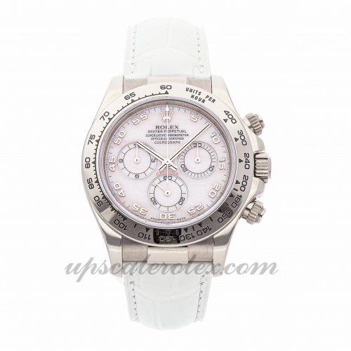 Ladies Rolex Daytona 11651 40mm Case Mechanical (Automatic) Movement Pink Dial