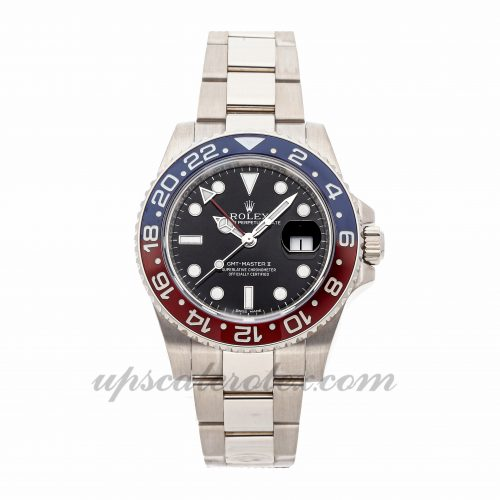 Mens Rolex Gmt-master Ii 116719blro 40mm Case Mechanical (Automatic) Movement Black Dial
