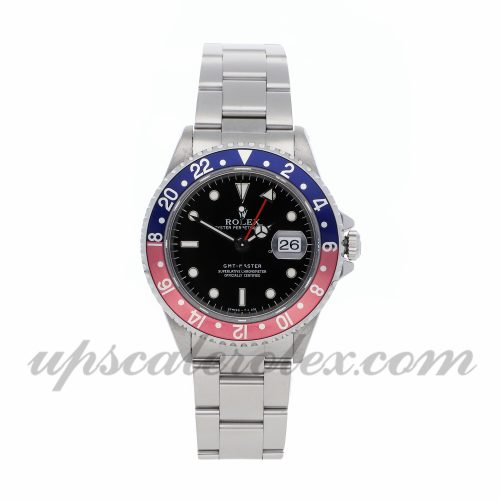 Mens Rolex Gmt Master 16700 40mm Case Mechanical (Automatic) Movement Black Dial