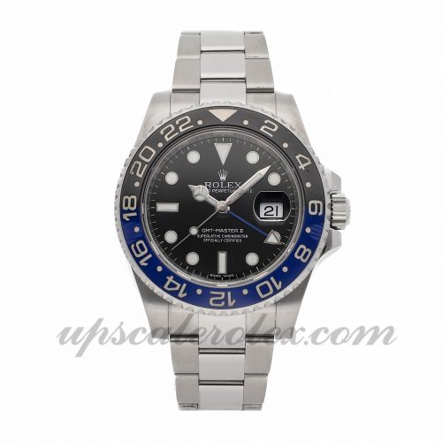 Mens Rolex Gmt-master Ii 116710blnr 40mm Case Mechanical (Automatic) Movement Black Dial