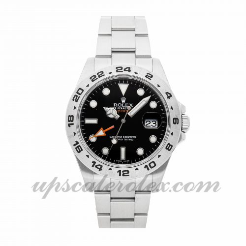 Mens Rolex Explorer Ii 216570 42mm Case Mechanical (Automatic) Movement Black Dial