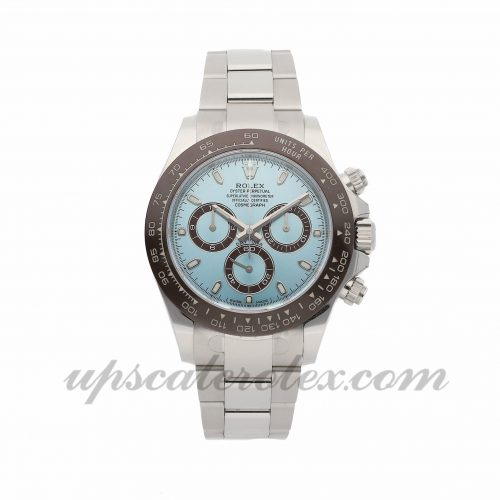 Mens Rolex Daytona 116506 40mm Case Mechanical (Automatic) Movement Glacier Blue Dial