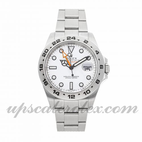 Mens Rolex Explorer Ii 216570 42mm Case Mechanical (Automatic) Movement White Dial