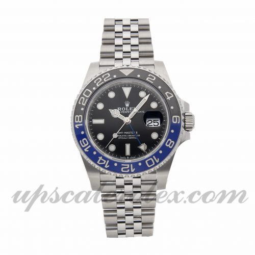 Mens Rolex Gmt-master Ii 126710blnr 40mm Case Mechanical (Automatic) Movement Black Dial