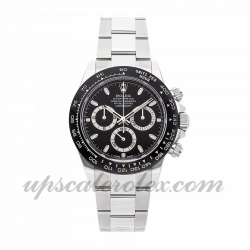 Mens Rolex Daytona 116500ln 40mm Case Mechanical (Automatic) Movement Black Dial