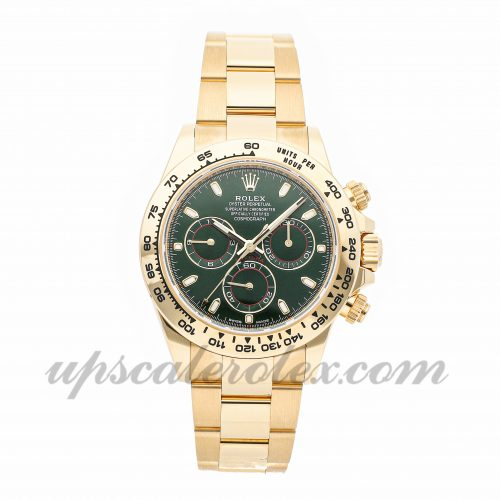 Mens Rolex Daytona 116508 40mm Case Mechanical (Automatic) Movement Green Dial