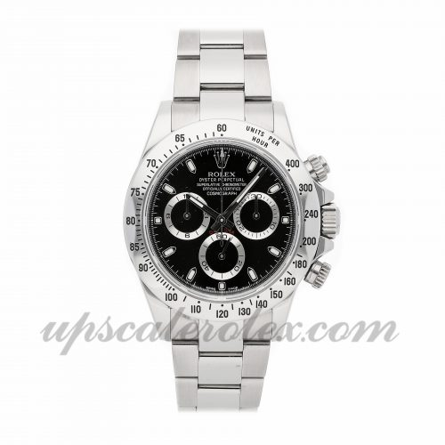 Mens Rolex Daytona 116520 40mm Case Mechanical (Automatic) Movement Black Dial