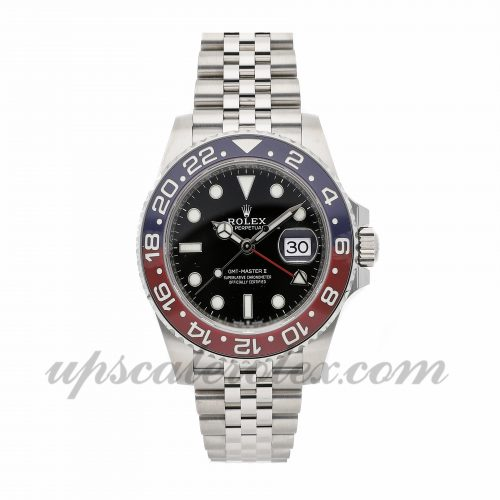 Mens Rolex Gmt-master Ii 126710blro 40mm Case Mechanical (Automatic) Movement Black Dial