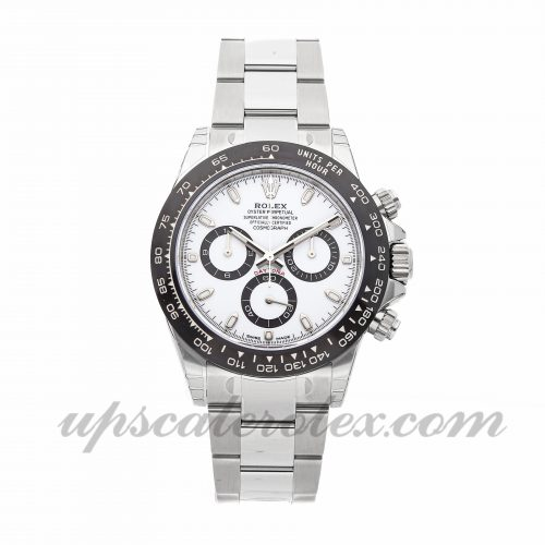 Mens Rolex Daytona 116500ln 40mm Case Mechanical (Automatic) Movement White Dial