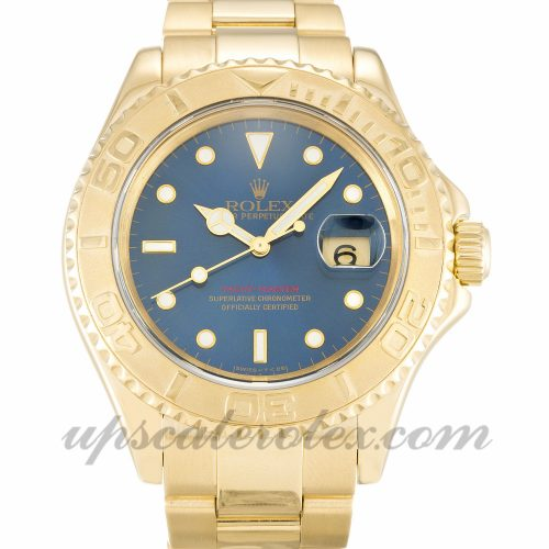 Mens Rolex Yacht-Master 16628 40 MM Case Automatic Movement Blue Dial