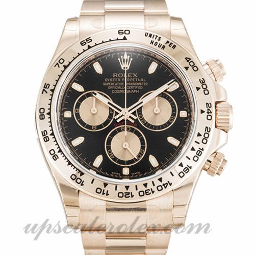 Mens Rolex Daytona 116505 40 MM Case Automatic Movement Black Dial