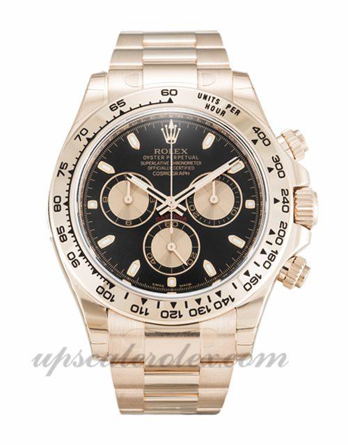 Mens Rolex Daytona 116505 40 MM Case Automatic Movement Black Dial