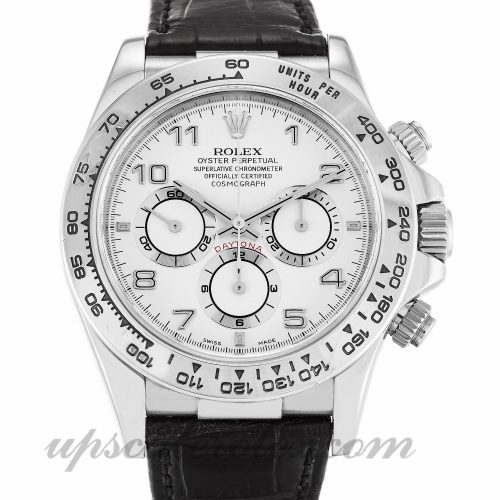 Mens Rolex Daytona 16519 40 MM Case Automatic Movement White Dial