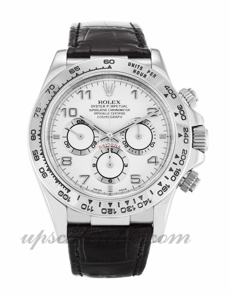 Mens Rolex Daytona 16519 40 MM Case Automatic Movement White Dial