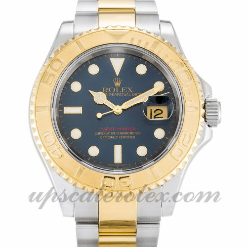 Mens Rolex Yacht-Master 16623 40 MM Case Automatic Movement Blue Dial