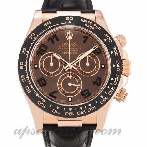 Mens Rolex Daytona 116515 LN 40 MM Case Automatic Movement Chocolate Dial