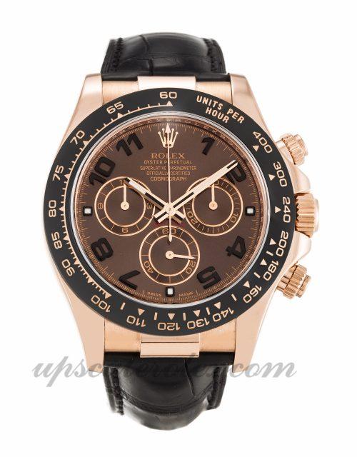 Mens Rolex Daytona 116515 LN 40 MM Case Automatic Movement Chocolate Dial