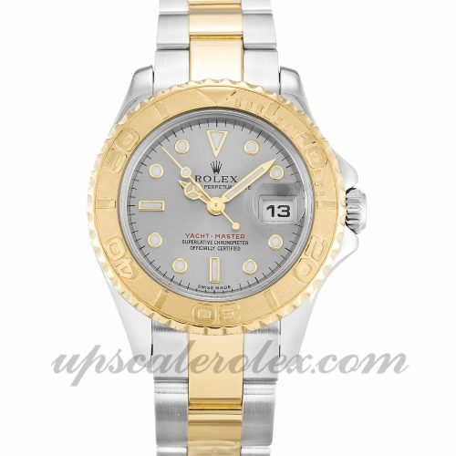 Ladies Rolex Yacht-Master 169623 29 MM Case Automatic Movement Grey Dial
