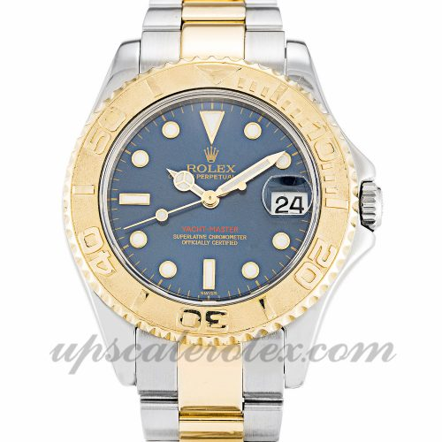 Unisex Rolex Yacht-Master 168623 35 MM Case Automatic Movement Blue Dial