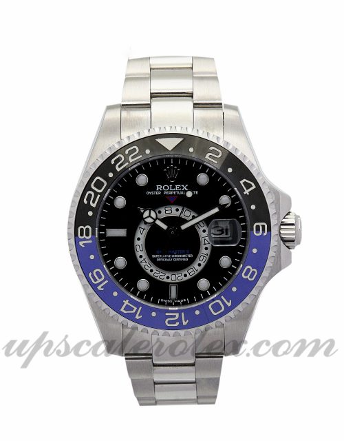 Men Rolex GMT Master 16720 40 MM Case Automatic Movement Black Dial