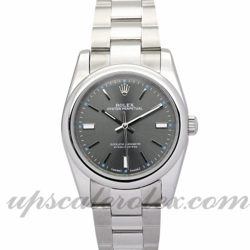 Ladies Rolex Lady Oyster Perpetual 177200 31 MM Case Automatic Movement Black Dial