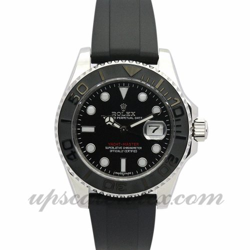 Unisex Rolex Yacht-Master 169622 35 MM Case Automatic Movement Black Dial