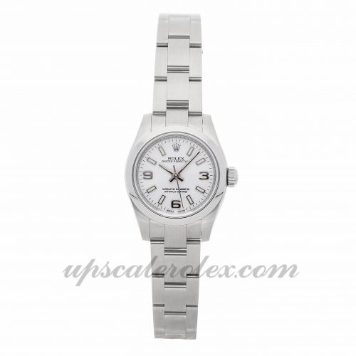 Ladies Rolex Oyster Perpetual 176200 26mm Case Mechanical (Automatic) Movement White Dial