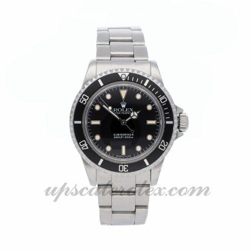 Mens Rolex Vintage Submariner 5513 40mm Case Mechanical (Automatic) Movement Black Dial