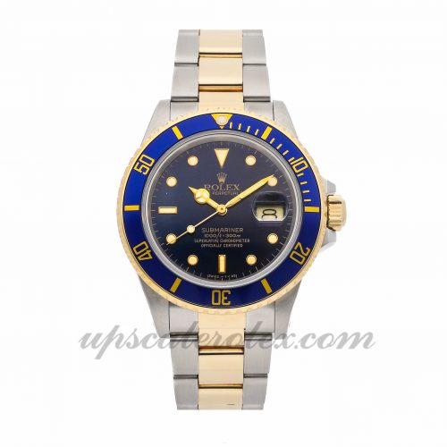 Mens Rolex Submariner 16803 40mm Case Mechanical (Automatic) Movement Blue Dial