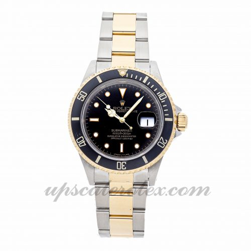 Mens Rolex Submariner 16613 40mm Case Mechanical (Automatic) Movement Black Dial