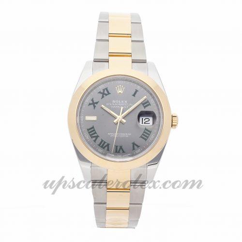 Mens Rolex Datejust 41 126303 41mm Case Mechanical (Automatic) Movement Slate Gray Dial
