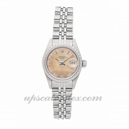 Ladies Rolex Oyster Perpetual Date 69240 26mm Case Mechanical (Automatic) Movement Silver Dial