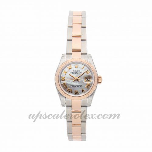 Ladies Rolex Datejust 179171 26mm Case Mechanical (Automatic) Movement White Dial